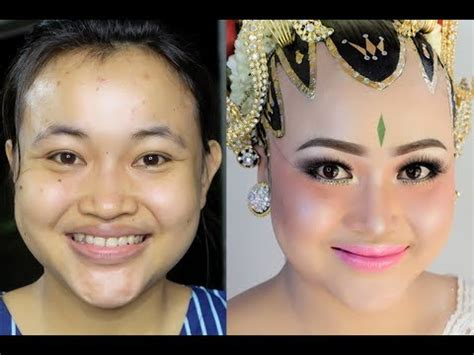 tutorial membuat alis paes ageng tutorial make up paes ageng request klien tanpa alis