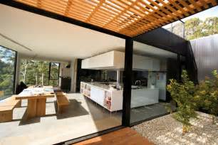 gardening landscaping glazed veranda design idea open