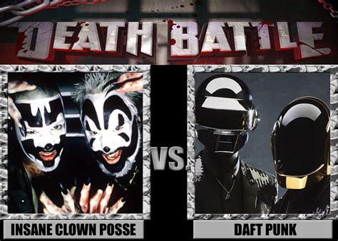 daft punk death death battles insane clown posse vs daft punk by