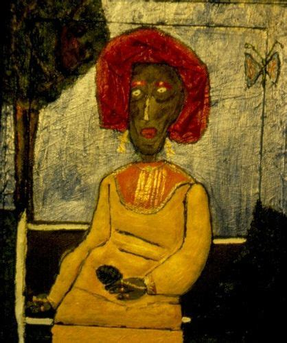 Renow Kanvas Abu 987 best neo expressionism outsider primitivism