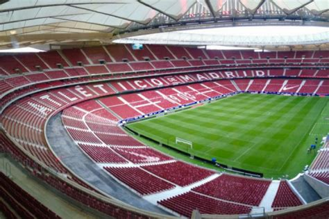 Home Workshop Plans by Inauguration Of Atletico Madrid S Wanda Metropolitano Essma