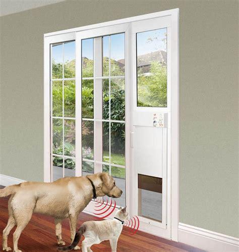 patio doors with built in pet door best 25 sliding glass door ideas on pet