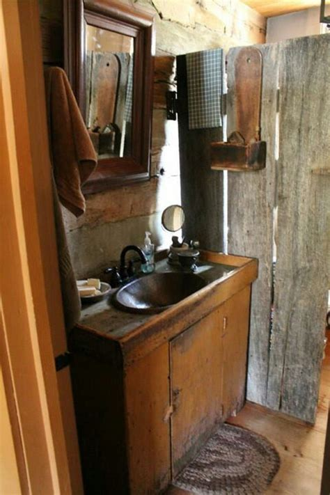 Primitive Bathroom Ideas Best 25 Primitive Bathrooms Ideas On Pinterest Primitive Country Bathrooms Primitive