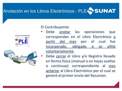 libros electronicos sunat 2016 libros electronicos 2016 sunat