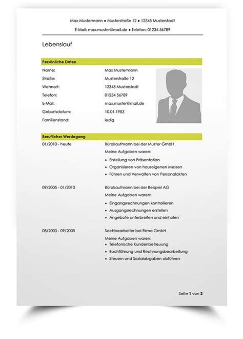 Word Vorlage In Pdf Umwandeln Lebenslauf Vorlage F 252 R Bewerbung Als Bankkauffrau