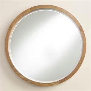 wood evan mirror world market
