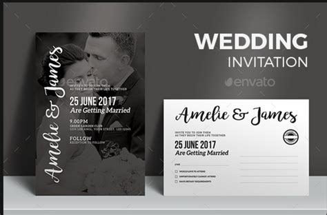 20 engagement invitation template word indesign and psd