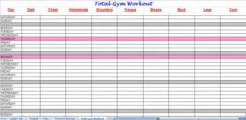 template for exercise program workout plan new calendar template site