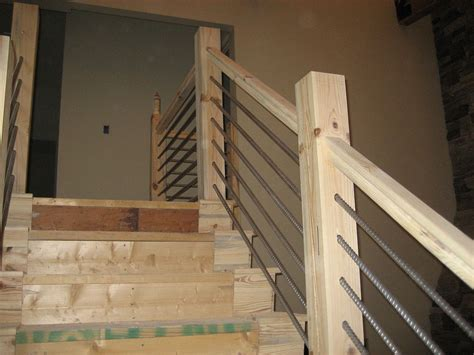 Easy Kitchen Design diy cable railing stairs railing stairs and kitchen