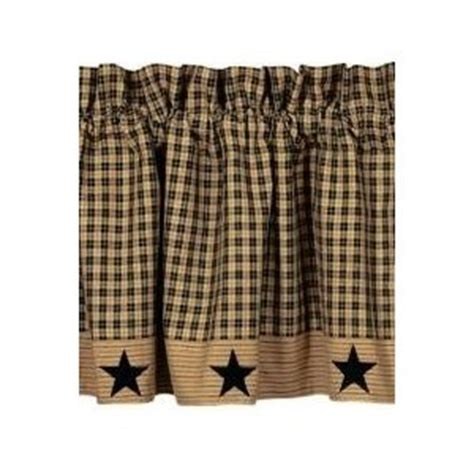 country primitive valance for the kitchen home sweet