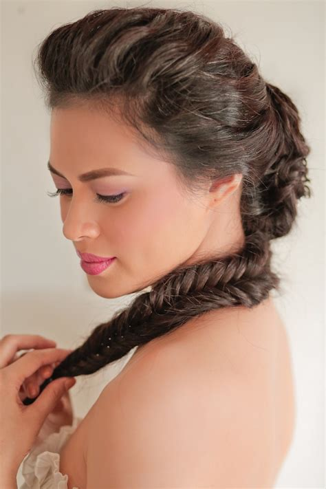 philipina formal hair styles precious lara quigaman s wedding mango red studios