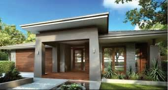 Home Design by Single Storey Facade New Home Ideas
