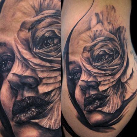 paradise tattoo gathering tattoos tony mancia rose