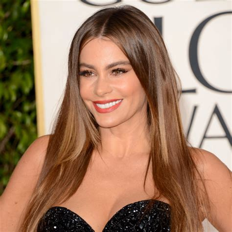 sofia vergara hair color sofia vergara golden globes hair 2013 popsugar beauty