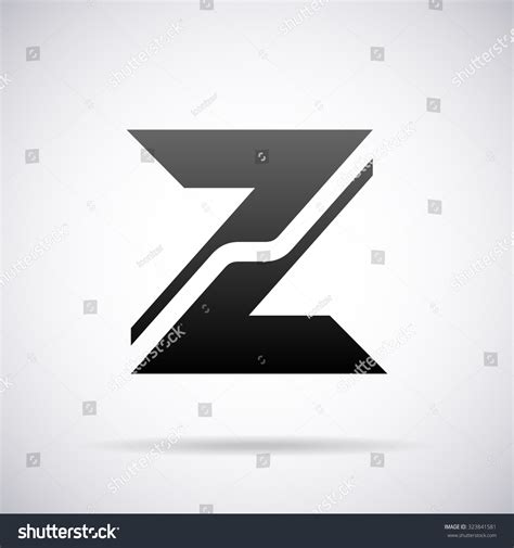 Z Search Logo For Letter Z Design Template Stock Vector Illustration 323841581