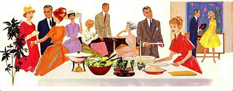 vintage christmas cocktail party 5 tips for a better dinner party cooking with care
