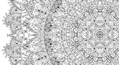 mandala coloring pages a4 large mandalas