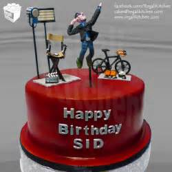 sporty director cake for sid maderazo
