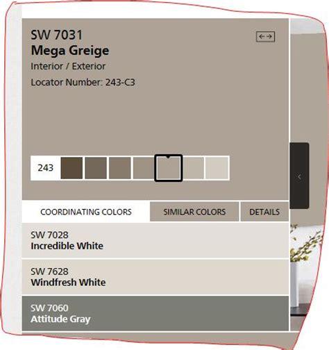 sw mega greige new house 2016 kid bathrooms paint colours and colour palettes