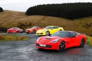 Porsche 911 Vs Corvette Usa 1 Europe 0 Chevrolet Corvette C7 Stingray Vs Porsche