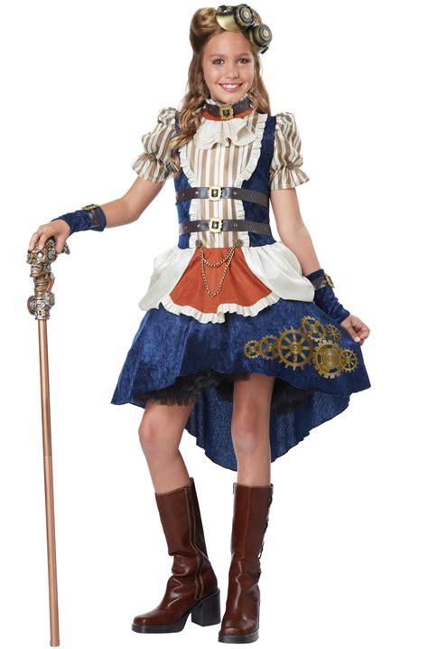 tween costumes purecostumescom steunk fashion girl tween costume purecostumes com