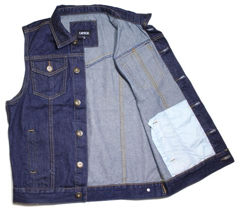 denim motorcycle jacket vest dk blue denim jean biker motorcycle jacket sleeveless