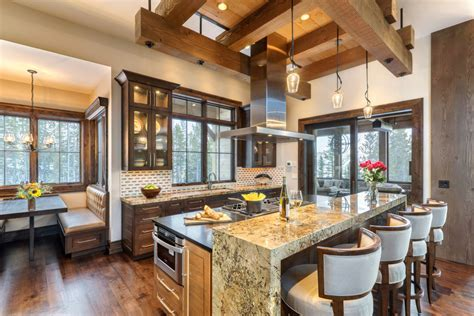 Kitchens and Dining Rooms for Luxury Mountain HomesBlue