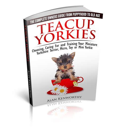 yorkie books teacup yorkie book