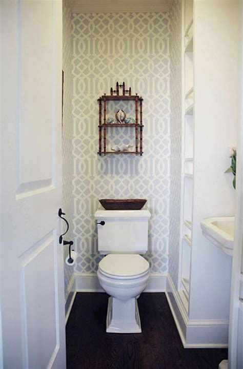 Wallpaper Ideas For Small Bathroom by Small Bathroom Wallpaper Fashionable Design Ideas