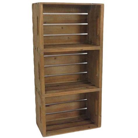 casette mobili in legno mensole con cassette pensili legno