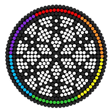 perler circle patterns circle catcher perler bead pattern bead sprites