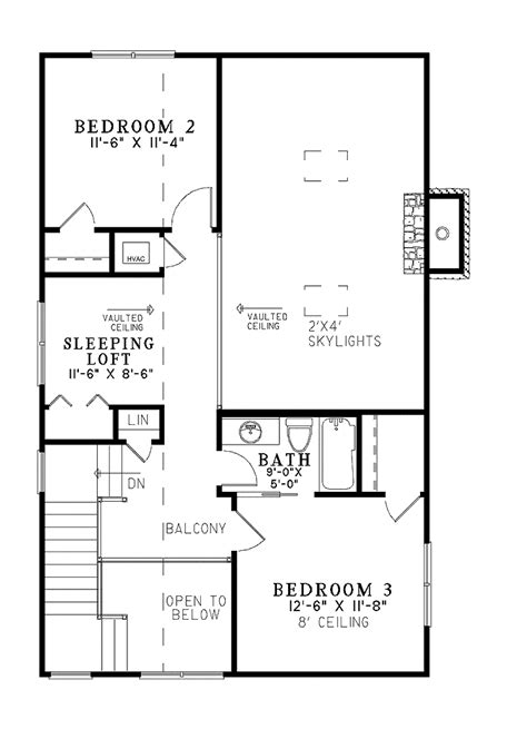 Two Story Craftsman 2 bedroom cottage floor plans small 2 bedroom cottage 2