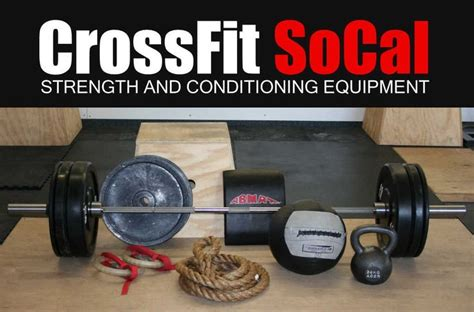 crossfit equipment crossfit