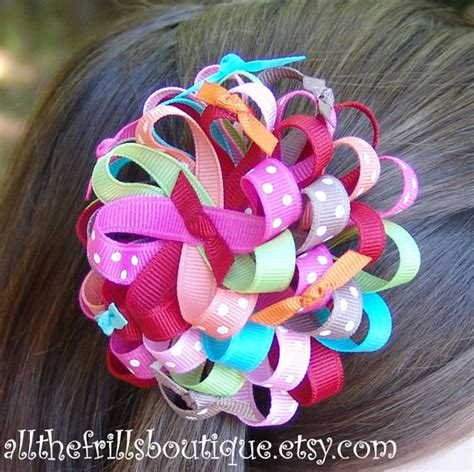 ribbon hair accessories instruction ribbon flower instructions how to make beautiful flower
