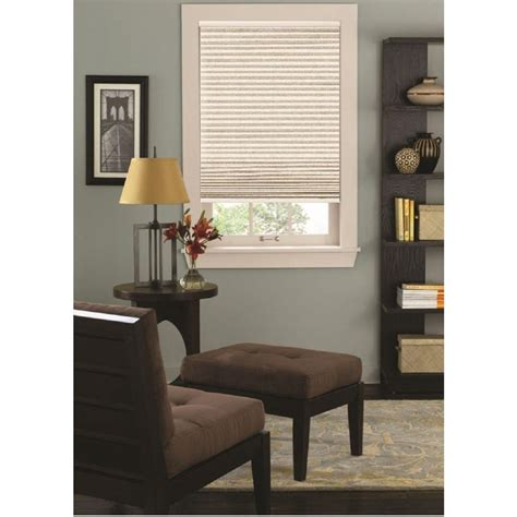 l shades by size bali cut to size sandstone 9 16 in cordless blackout