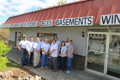 our home remodeling team shakespeare home improvement co