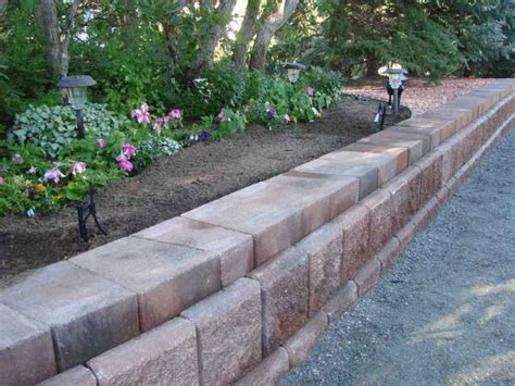 Retaining Walls And Raised Garden Bed Edging Four Garden Bed Retaining Wall