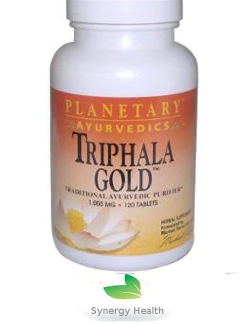 Synergy Detox Shoo Directions by Planetary Herbals Triphala Gold 120 Tabs Freepost Synergy Uk
