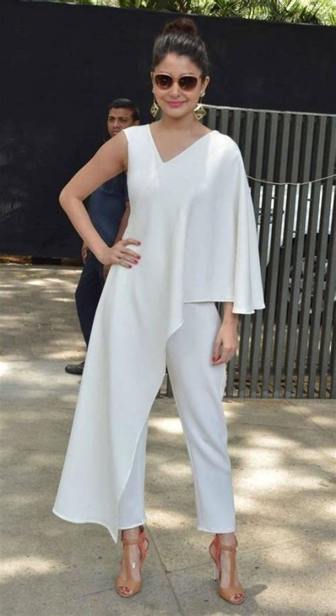 anushka sharma is slayin it in a jumpsuit as she poses shop anushkasharma highendfashion jumpsuit on seenit 17012