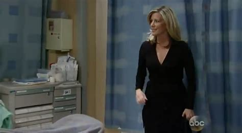 is laura wright leaving general hospital general hospital fashion get carly corinthos dvf dress