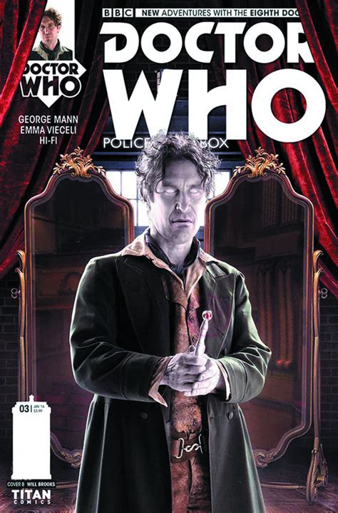 the of the deadly doppelganger dr ribero s agency of the supernatural books oct151648 doctor who 8th 3 previews world