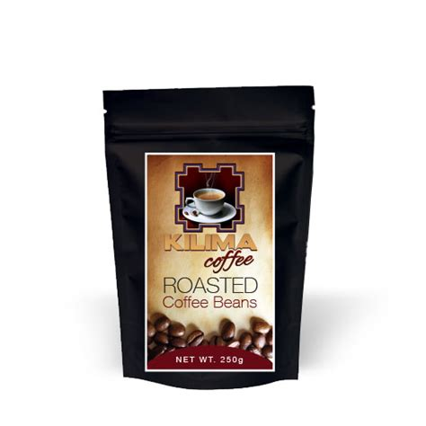 Roasted Coffee Beans Shelf by Kilima Coffee Coffee Suppliers South Africa