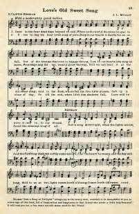 Thesweethome Sheets by Free Sheet Music Graphic Love S Old Sweet Song Old