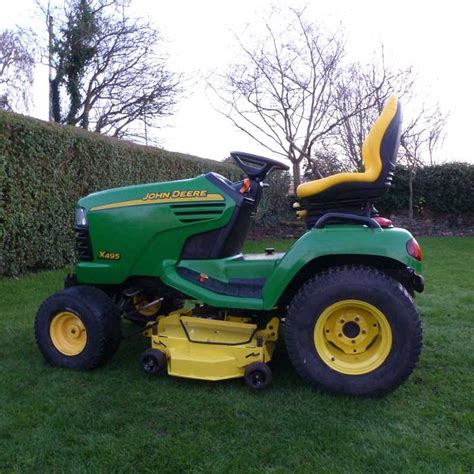 Used Mower Decks by Used 2004 Deere X495 Garden Tractor With 48 Quot Rotary