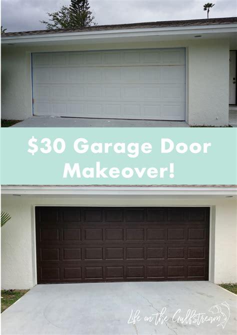 Garage Door Makeover Diy by Garage Door Makeover Diy Wageuzi