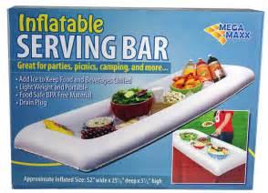 Buffet Cooler Table Lot Of 2 Serving Salad Bar Buffet Picnic Drink