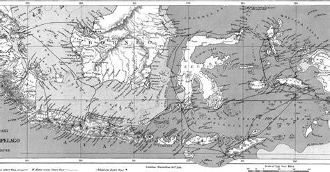 Sejarah Nusantara The Archipelago Alfred Russel Wallaco indonesia zaman doeloe ilustrasi dari buku the archipelago karya alfred wallace 9 rute