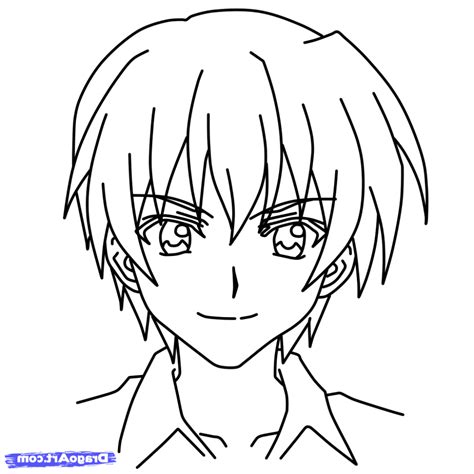 Drawing Characters by Easy To Draw Anime Characters 5 How To Draw Gray Easy