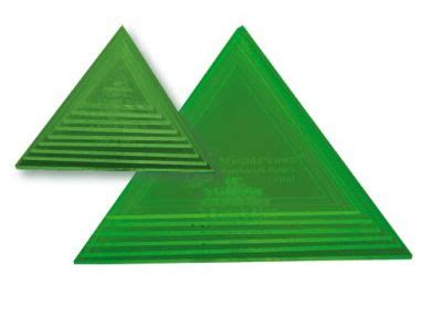 small triangle template small triangle set sewing connection
