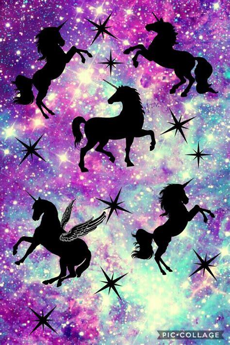 unicorn galaxy screensaver jednorozci